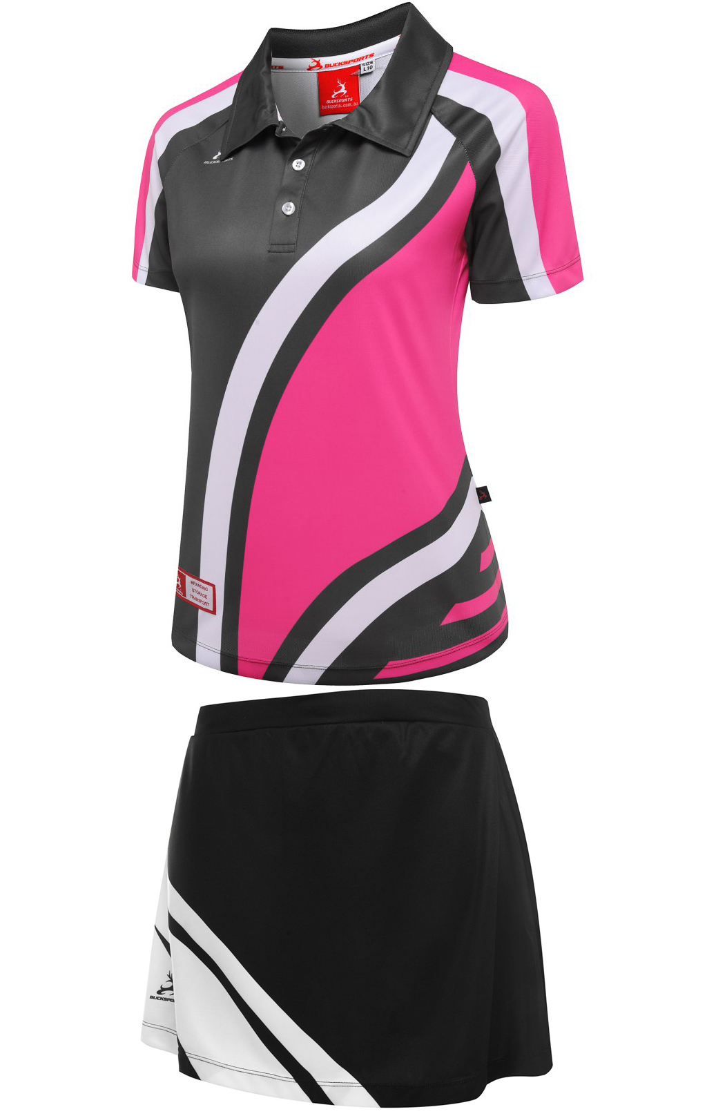 TENNIS UNIFORM-LADY-T1112PWG