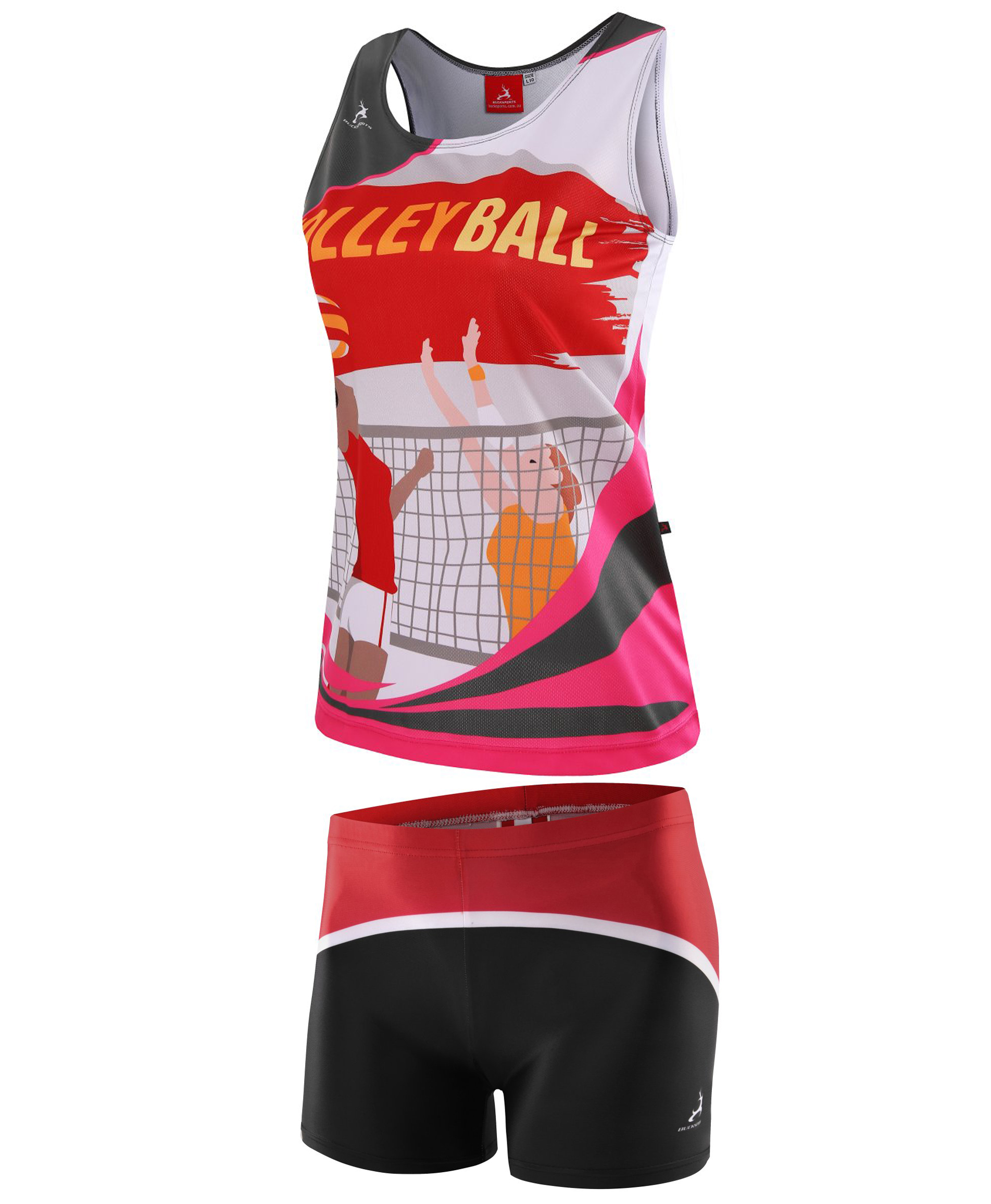 VOLLEYBALL JERSEY-SUBLIMATED-L03L06PWG2