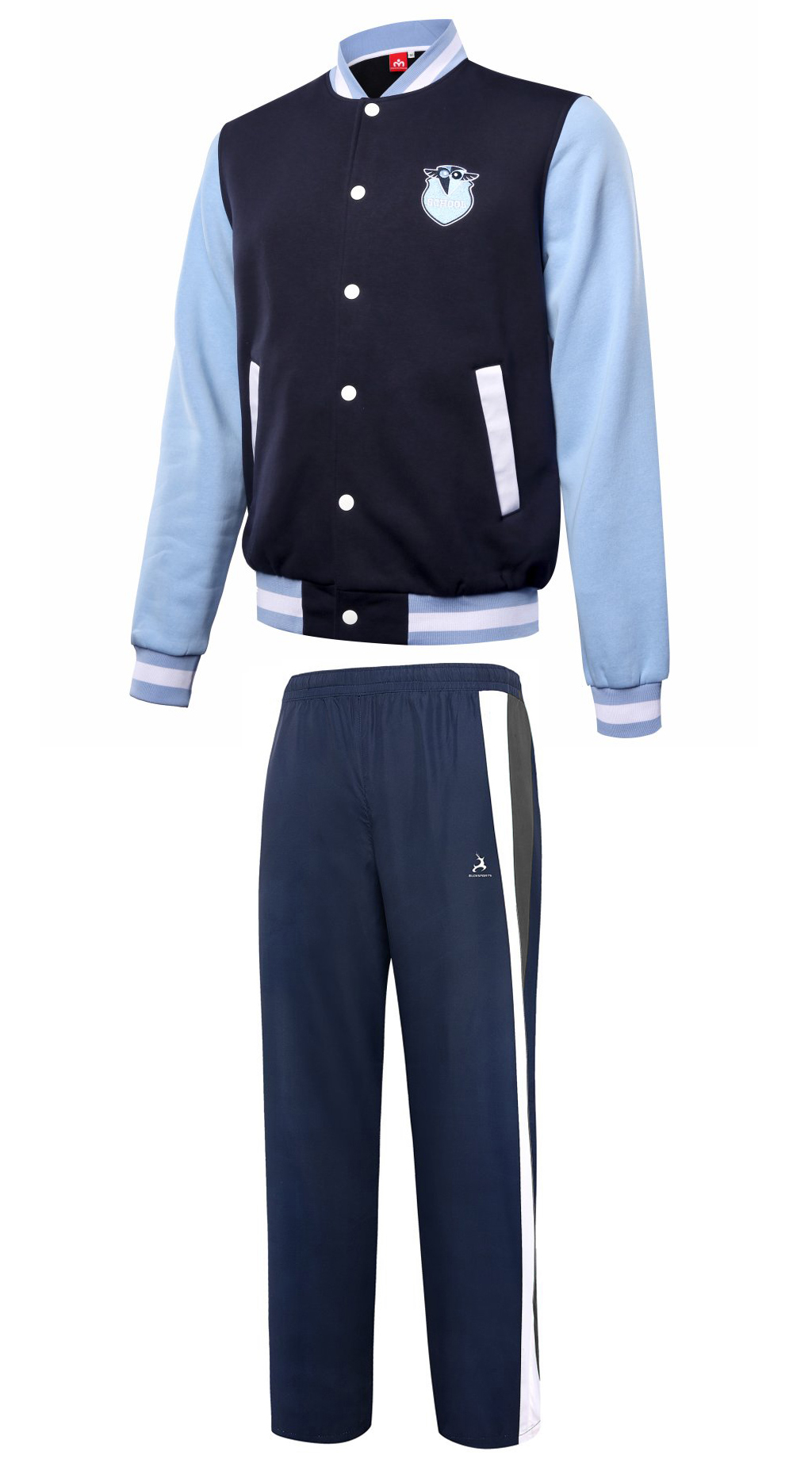 BASEBALL SCHOOL LEAVER JACKET PANTS-L0507SCHOOL