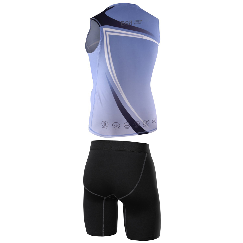 SUBLIMATION GYM VEST SHORTS-C8286SC3